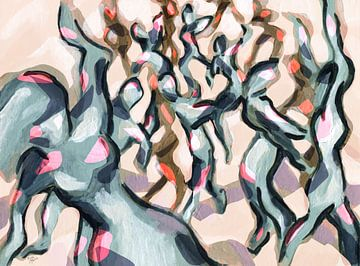 Dancer's landscape van ART Eva Maria