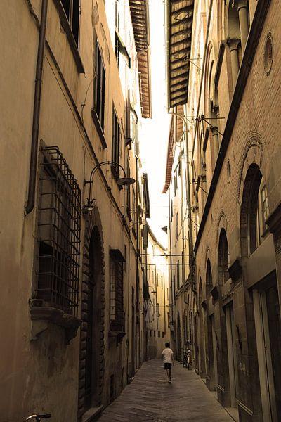 Toscane Italië Lucca Binnenstad Oud van Hendrik-Jan Kornelis