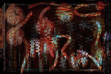 Wolle dunkel von GOOR abstracten