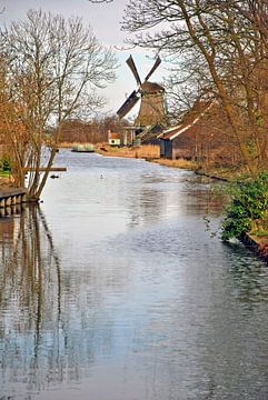 Draaiende molen van Jaimy Buunk