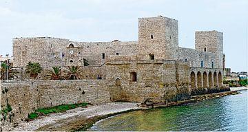 Castello Normanno Svevo in Trani van Leopold Brix