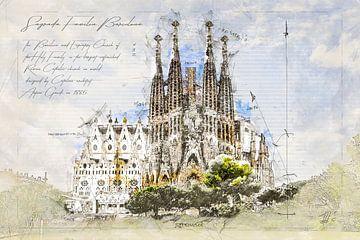 Sagrada Familia, Barcelona von Theodor Decker