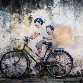 Straatkunst Maleisie van Ellis Peeters