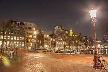 Staalstraat richting Zwanenburgwal te Amsterdam van Ad Van Koppen