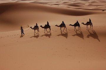 Karavaan woestijn van Marry Fermont