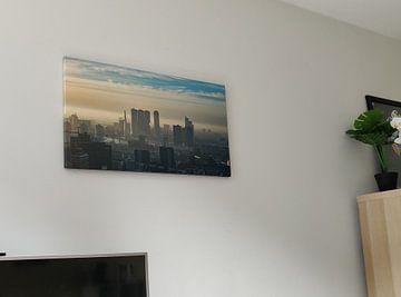Klantfoto: Skyline Rotterdam van 24 liquidmedia