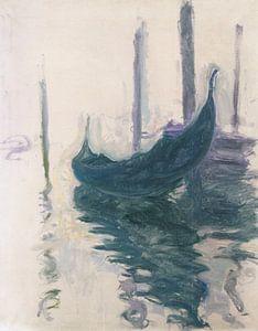 Gondelbahn in Venedig, Claude Monet