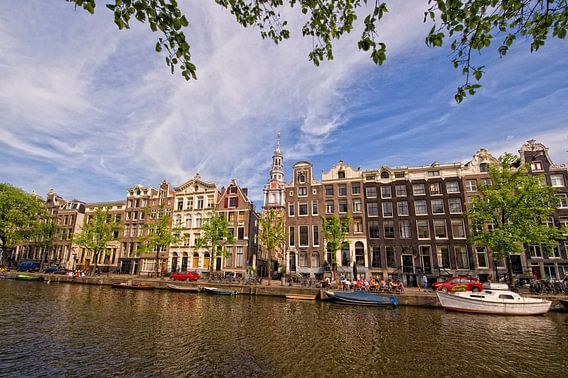 Amsterdam, Zuiderkerk vanaf Kloveniersburgwal van martien janssen