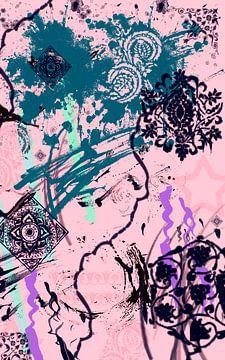 Abstrakt motiv van Roswitha Lorz