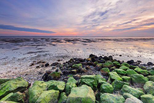 Zonsondergang vanaf Schiermonnikoog