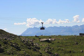 Téléphérique de l'Aiguille du Midi  van M Ravensbergen