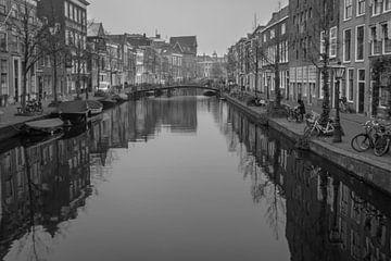 Oude Rijn - Leiden van Patrick Herzberg