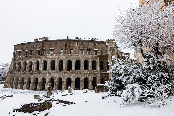 Winter in Rome van Michel van Kooten