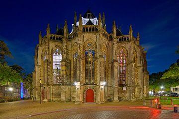 Achterkant Grote Kerk Dordrecht van Anton de Zeeuw