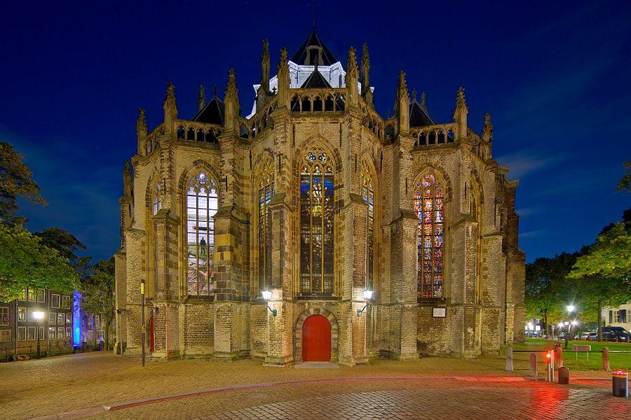 Achterkant Grote Kerk Dordrecht