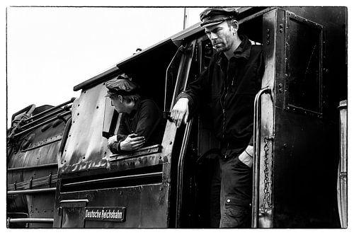 Steamtrain driver von