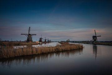 Molens van Kinderdijk van Rene Van Putten