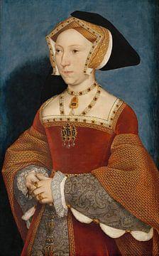 Jane Seymour, reine d'Angleterre, Hans Holbein sur