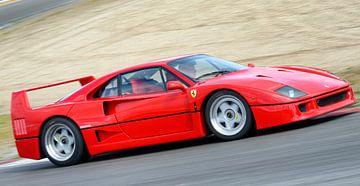 Ferrari F40 sur Sjoerd van der Wal