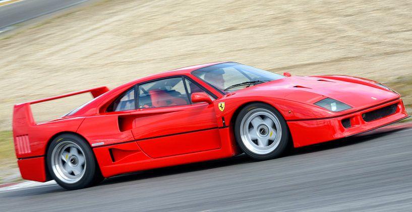 Ferrari F40 van Sjoerd van der Wal