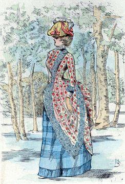 1885, Women's fashion in nineteenth-century Paris, Boutet, Henri (1851-1919) sur