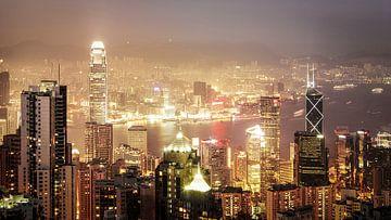 Hong Kong Dusk sur Maarten Drupsteen