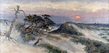 Die Dünen von Wassenaar, Willem Delsaux, 1903 von Atelier Liesjes