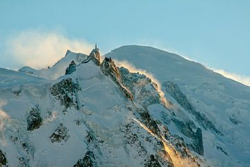 Aiguille du Midi und Mont-Blanc von Jc Poirot