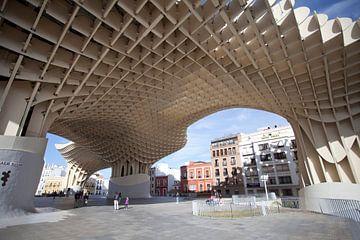 Séville : le parasol du Metropol sur Kees van Dun