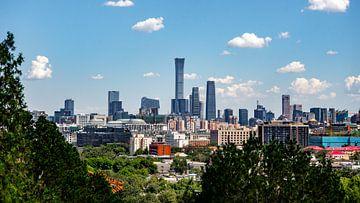 Peking skyline van Stijn Cleynhens