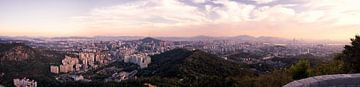 Seoul Panorama van Emre Kanik