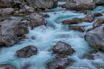 Wild river Verzasca, Switzerland van Ursula Di Chito