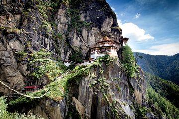 Paro Tatsang / Tiger's nest klooster sur Paul Piebinga
