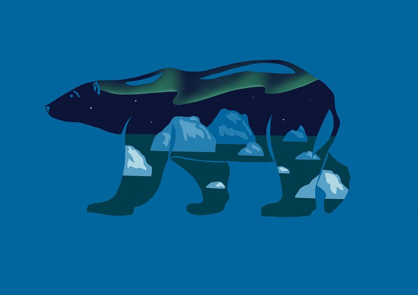 Eisbär von Minca de Jong