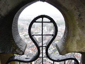 Uitzicht vanaf de Domtoren in Utrecht van Jeroen Schuijffel