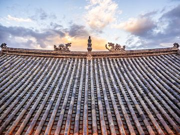Chinees leien dak van