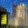 City-Art BERLIN Potsdamer Platz II van Melanie Viola thumbnail