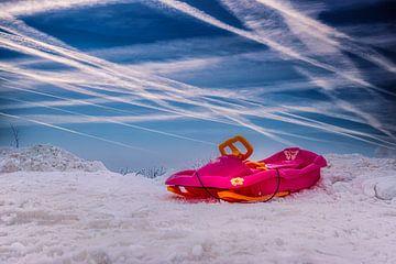 Winter in het Erzgebirge van Johnny Flash