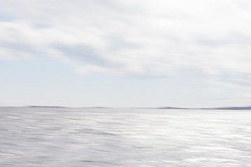 Verstild zeelandschap 1 van Jolanda Sprokholt