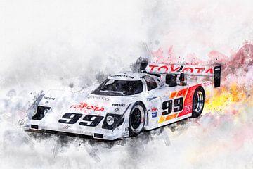 Toyota IMSA Eagle HF89 von Theodor Decker
