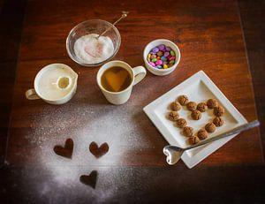 koffie in de morgen van Lia Altink