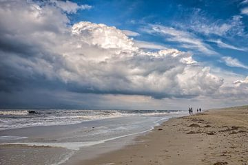 strand en de Noordzee van eric van der eijk