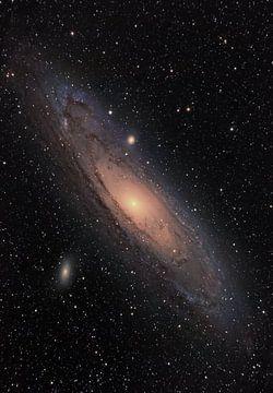 M-31 Andromeda Galaxy van Dennis Carette