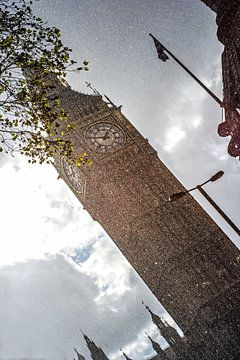 Big Ben verschneit von Stefan Havadi-Nagy