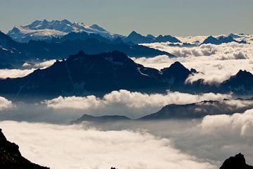 Mont-Blanc massief, Alpen van Stefan Wapstra