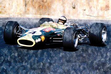 Jim Clark, Lotus von Theodor Decker