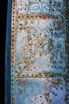 Oude Italiaanse kerkdeur