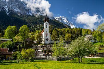 Frühling in Oberbayern (Deutschland) von Achim Thomae