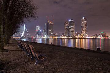 De kleuren van Rotterdam van Sander Meertins