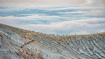 Kawa Ijen Vulkaan op Java von Lex van Doorn